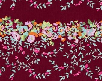 Amy Butler Fabric - Alchemy Victoriana in Port - Half Yard