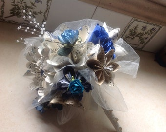 Kusudama Wedding Bouquet Includes 8 Origami Paper Flowers