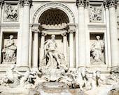 Rome 6 - Trevi Fountain - portrait version - Travel Photography - Wall Décor