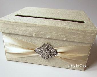 Small Bridal Shower Card Box Baby Shower Card Holder Small Wedding Card Box Custom Made