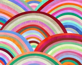 Concentric Circles Art Print