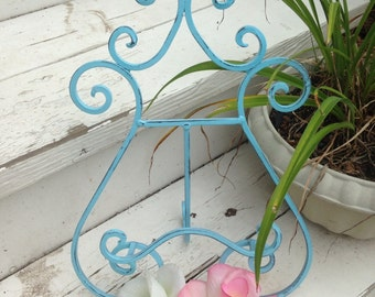 Easel, Shabby Chic Easel, Wedding Easel, Picture Easel, Wedding Decor