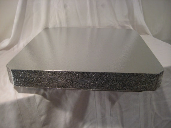 14 inch square wedding cake stand cake stand 14 inch square antiqued 10047