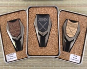 Personalized Groomsmen Gifts- 2 Sided Golf Ball Marker / Divot Remover - Gifts for Groomsmen, Best Man Gift, Engraved Golf Marker, Mens Gift