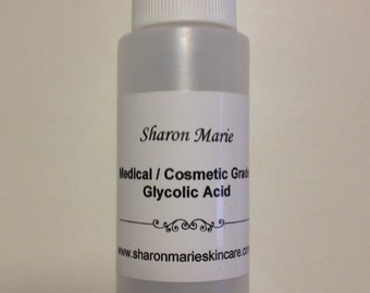 70% Glycolic Acid 1+1/3oz.(40ml) Medical grade/ ANTI: wrinkle,acne, saggy skin, age spots, scars,stretch marks.