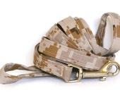 6 ft Leash - Digital Desert Camo - Camouflage