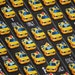 SPECIAL--Yellow and Black City Taxi Print from Timeless Treasures--One Yard