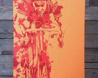 CANNIBAL bicycle art print 2nd Edition
