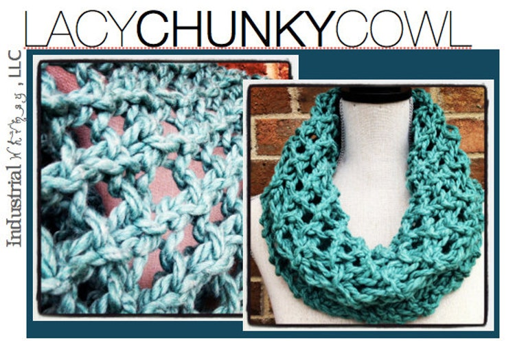 Chunky Cowls Pattern Pack Knitting Patterns by ...