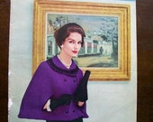 Capes and Stoles Instructional Vintage Knitting and Crochet Booklet from Coat's & Clark's