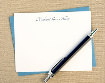 Personalized Notecard Set / Couples Gift / Personalized Stationery Set for a Couple / Newlywed Gift