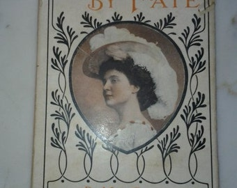 c1890 Wedded By Fate or Sister Angela By Mrs Georgie Sheldon-Victorian Penny Dime Romance Novel