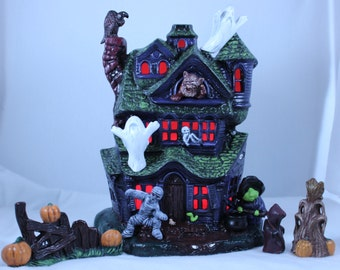 Ceramic Haunted House