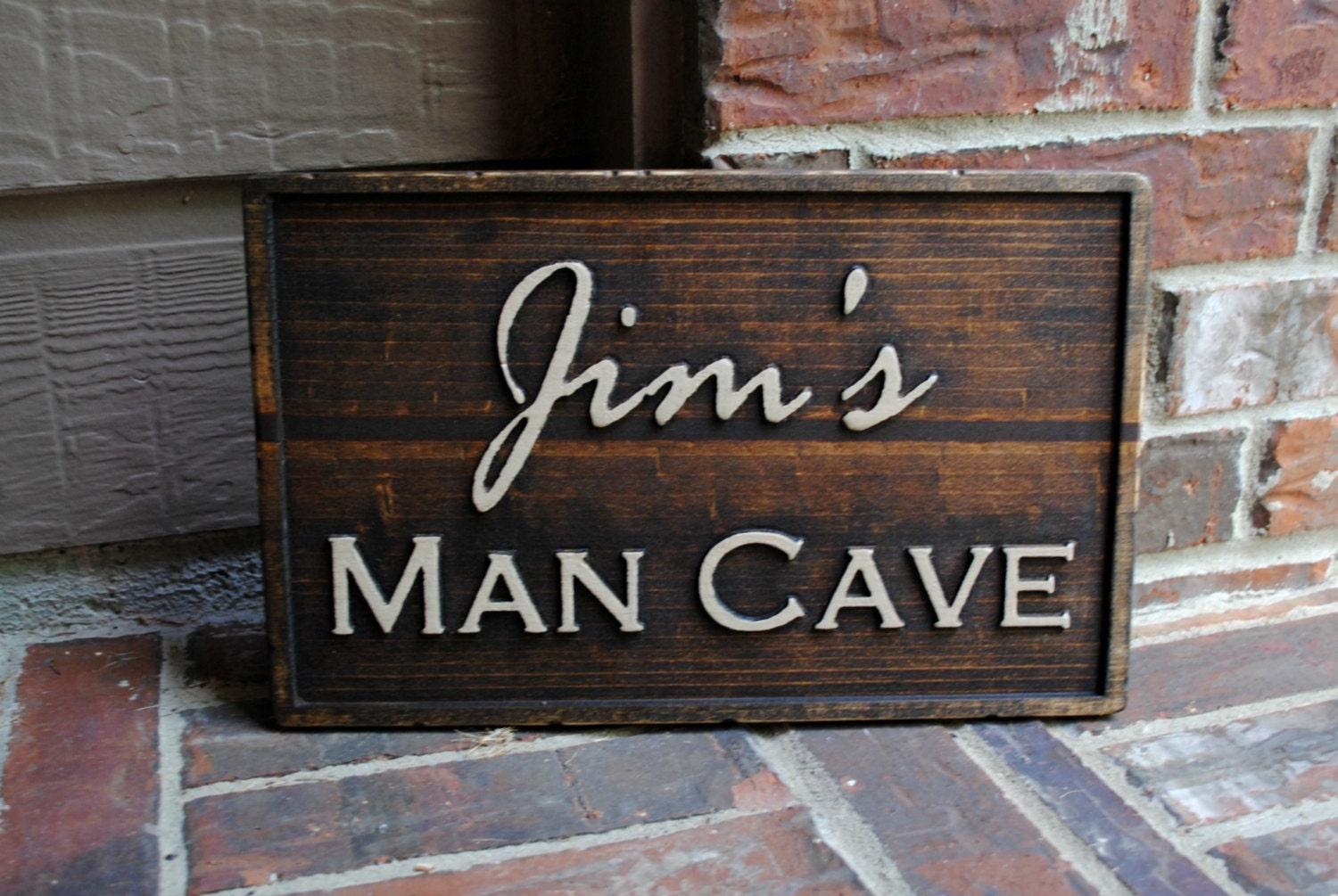 Man Cave Signs Wooden : Unavailable listing on etsy