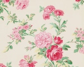 Shabby Chic Fabric by the Yard Verna Mosquera Rosewater PWVM109 Sand Fabric One Yard