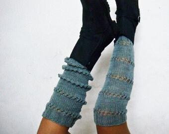 Extra Long Legwarmers Knitting Pattern, Knit Spats Pattern, Boot Cuffs Pattern, 234