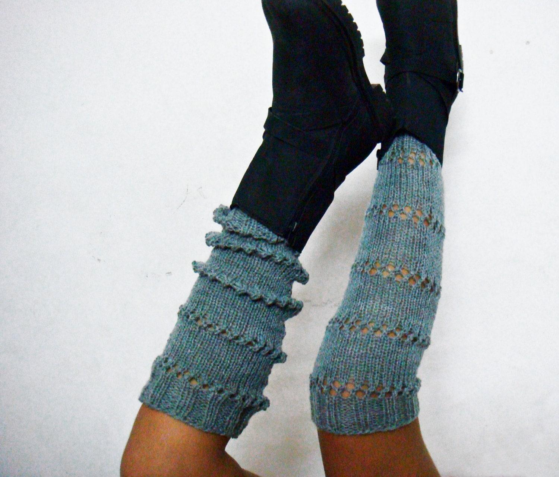 Extra long legwarmers knitting pattern knit spats boot cuffs zoom bankloansurffo Choice Image
