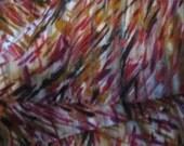 Multi Print Satin Stripe Yoryu Scarf