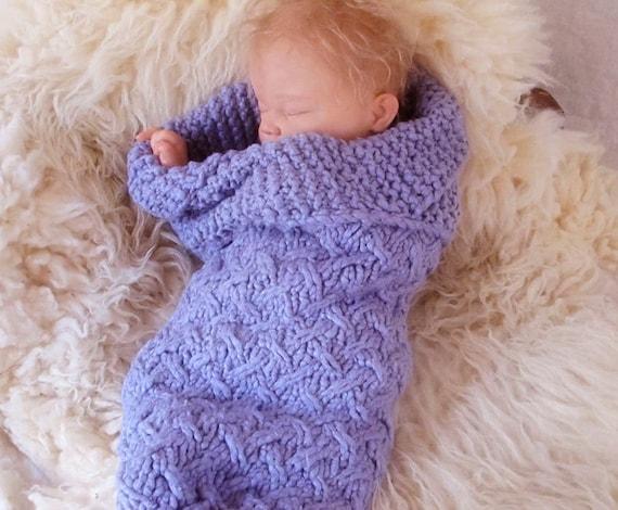 Kafes Bebek Kozası, Yenidoğanlar İçin Kiraz Örtüsü Örgü Modeli