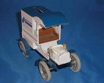 Cast Metal Bank Car