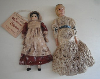 Pair of Spillman Ornaments