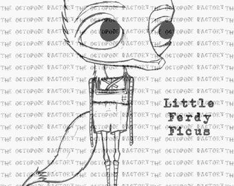 INSTANT DOWNLOAD Ferdy the baby Fox