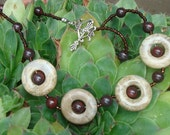 Brecciated Jasper Necklace And Earring Set