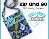 Zip and Go PDF Sewing Pattern