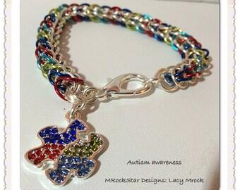 Autism awareness, custom, personalized, handmade,