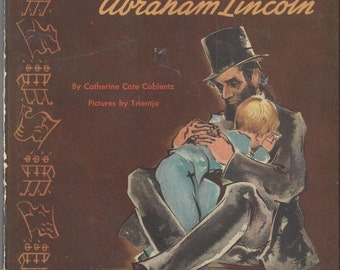 Martin and Abraham Lincoln Vintage Book, 1947 First Edition