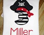 Pirate Birthday Shirt