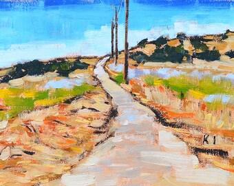 Laguna Canyon, California landscape painting