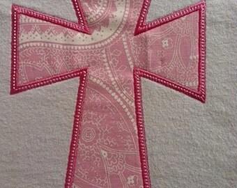 Cross Applique Machine Embroidery Design