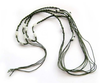 2Pcs Silk Necklace Cord String For Making Jewelry--Length In 350mm--2Pieces  ja566