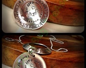 Stainless Steel Mother or Grandmother Necklace