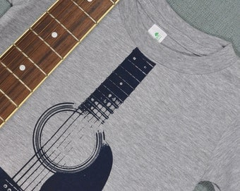 Acoustic Guitar Organic Cotton Shirt (4T)