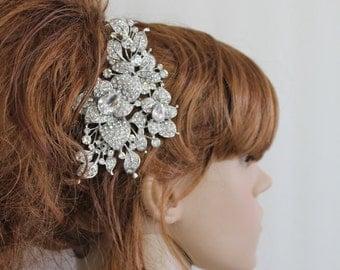 Bridal hair comb wedding hair accessory bridal hair jewelry wedding hair comb Rhinestone bridal comb wedding accessory bridal headpiece comb