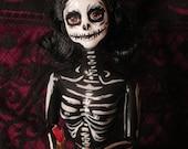 Barbie Halloween Skeleton Doll
