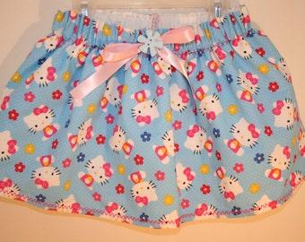Hello Kitty Blue Skirt