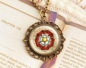 Tudor Rose - Fancy Necklace
