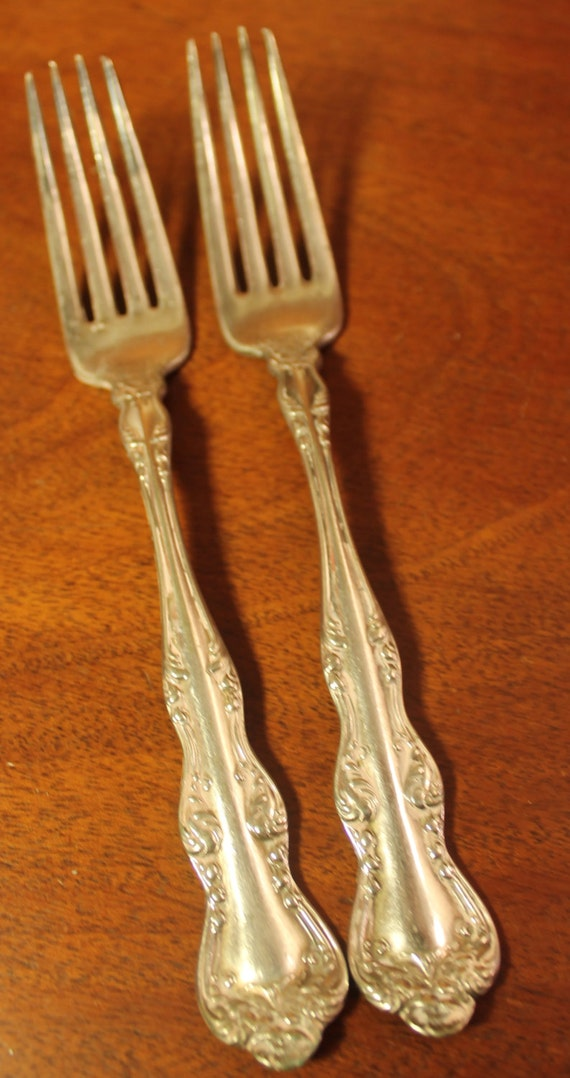 Holmes & Edwards XIV Silverplate Flatware Vintage by AtomicHoliday