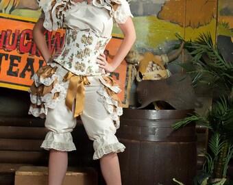 Silk Steampunk Wedding Bustle BURLESQUE   STEAMPUNK Bridal By Gothic Burlesque