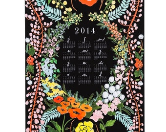 2016 Language of Flowers wall calendar