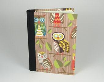 Owl Themed Journal - Adventure Journal - Woodland Owls - Owls Journal - Daily Writing Journal - Diary