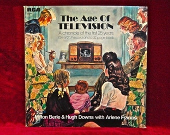 The GOLDEN AGE of TELEVISION - A Chronicle of the First 25 Years - Vintage Vinyl Record Album