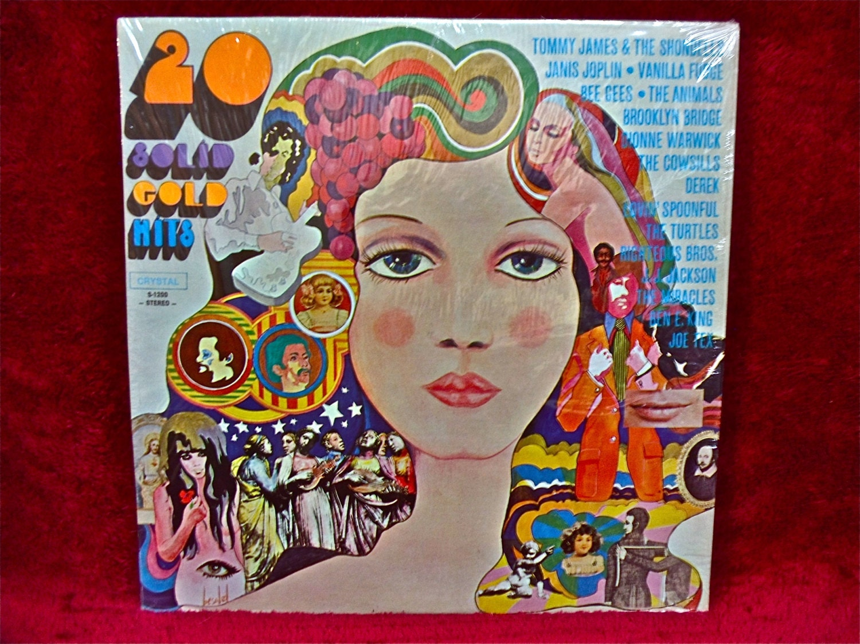 20 Solid Gold Hits By Original Artists Vintage Vinyl