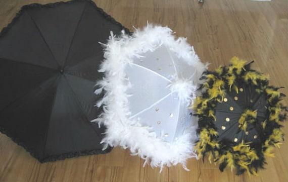 New Orleans Saints Second Line Umbrella Parasol By Grisgrisart