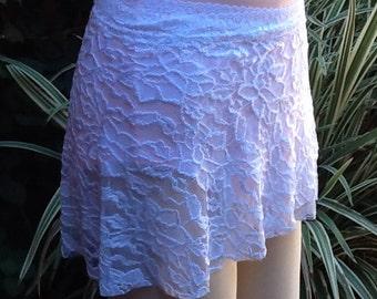 Ballet/Dance Wrap Skirt Large White Lace