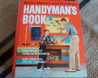 Mid Century Better Homes and Gardens Handyman's Book