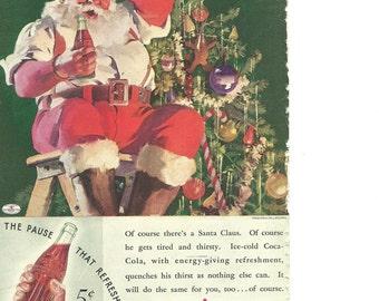 Coca Cola Advertisement - Original 1935 Vintage Magazine Ad-Drink Coca Cola Delicious & Refreshing Ready to Frame